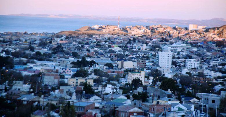 Fotografias panoramicas de la ciudad de Caleta Olivia