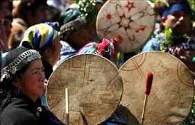 Cultura del pueblo Mapuche en Argentina.